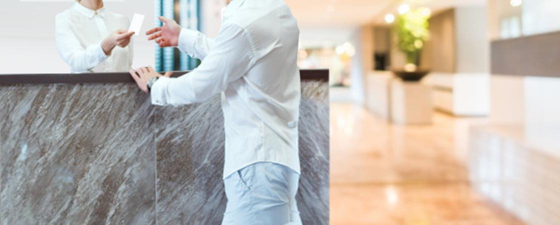 Praėjimo kontrolė viešbučiams