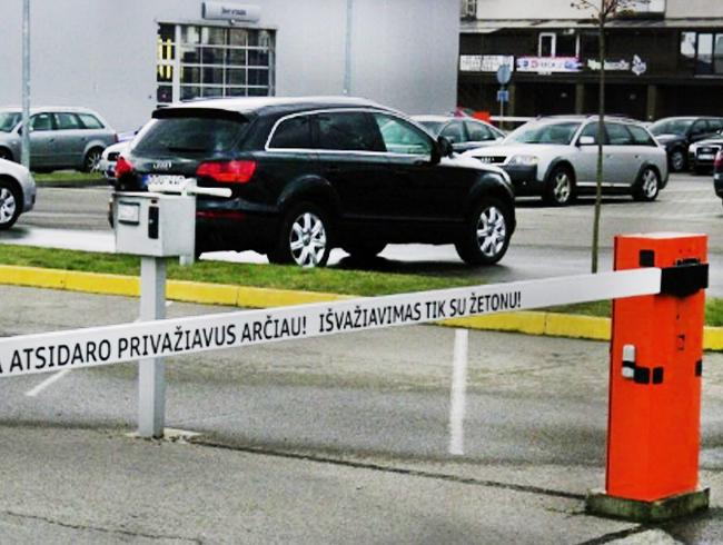 Parkingo sistemos